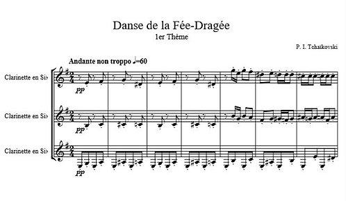 Tchaïkovski P.I.- Danse de la Fée-Dragée (Casse-Noisette)