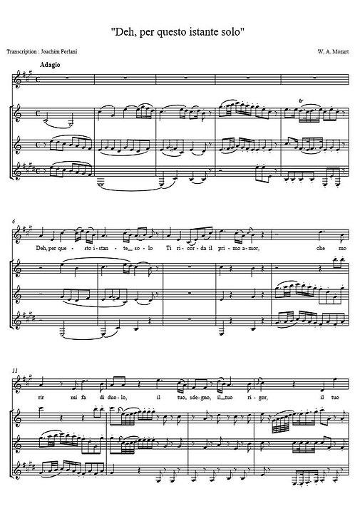 Mozart - Deh, per questo instante (La Clemenza di Tito)