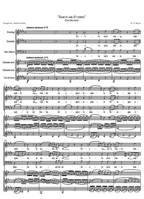 Mozart W.A. - Soave sia il vento (Così fan Tutte)