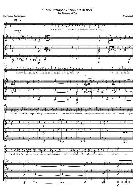 Mozart W.A. - Non più di fiori (La Clemenza di Tito)