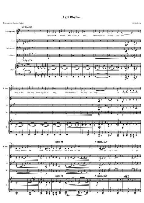 Gershwin G. - I got Rhythm