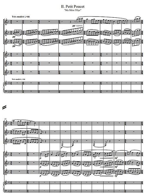 Ravel M. - Petit Poucet (Ma Mère l'Oye II)