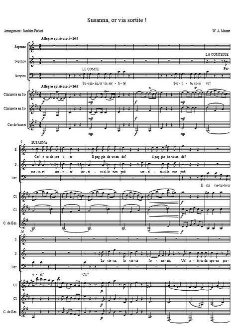Mozart - W.A. - Susanna, or via sortite (Figaro)