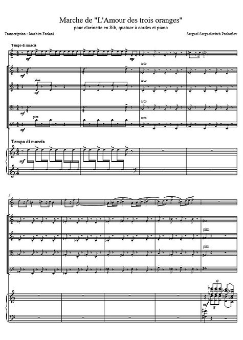 Prokofiev S. - Marche de L'amour des trois oranges