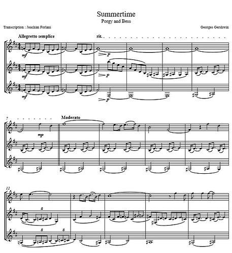 Gershwin G. - Summertime (Porgy and Bess)