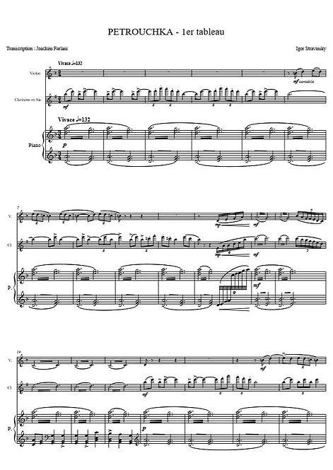 Stravinsky I. - Petrouchka : 1er Tableau