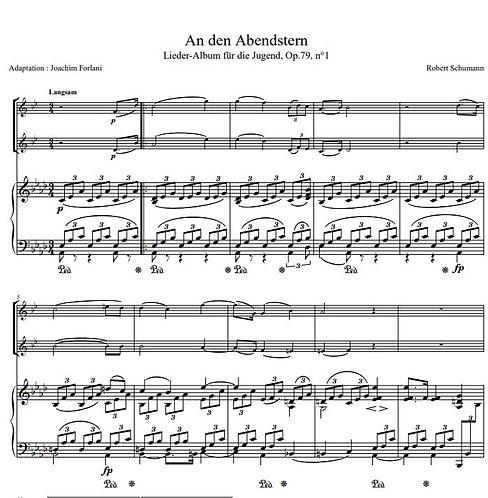 Schumann R. - An den Abendstern_2ClPno