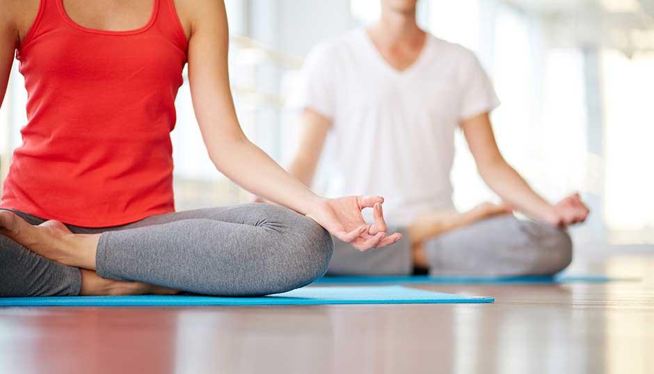 Cross-Legged Seated Yoga Pose