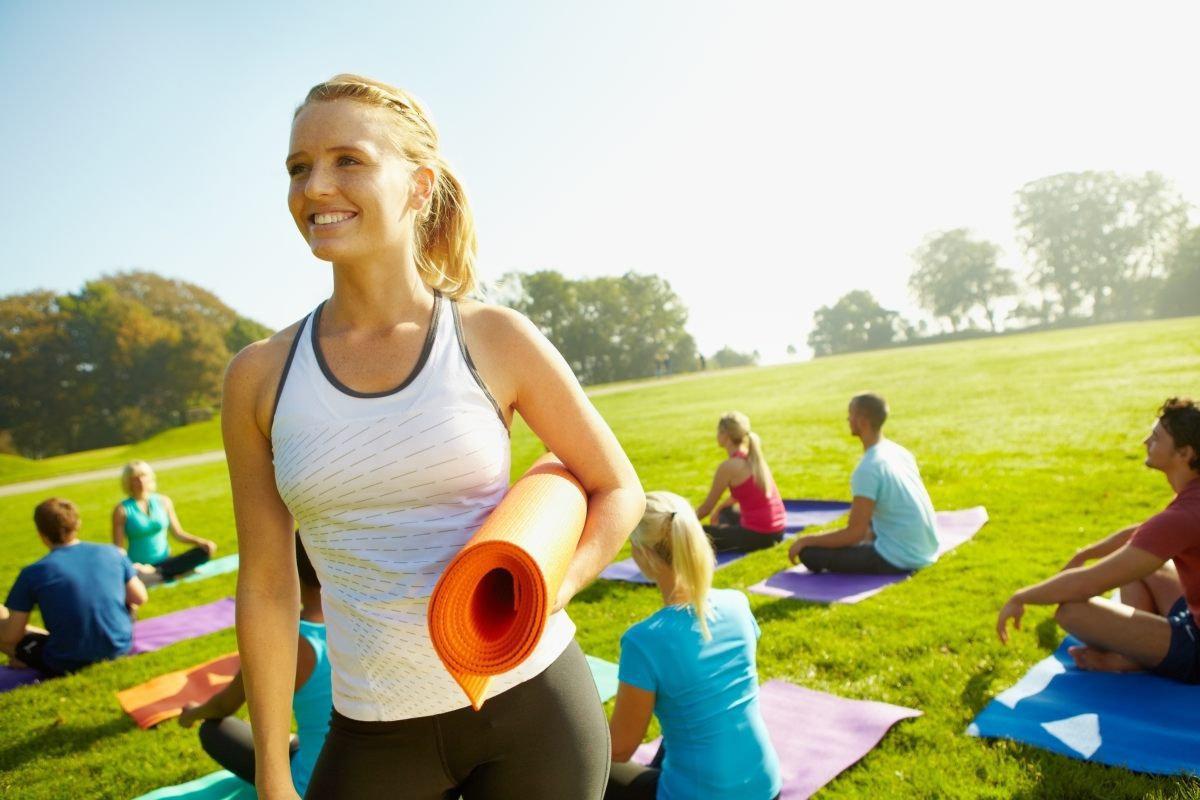 Wednesday Outdoor Yoga Flow 6-7pm