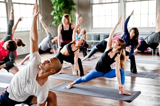 Mixed-Levels Yoga Class