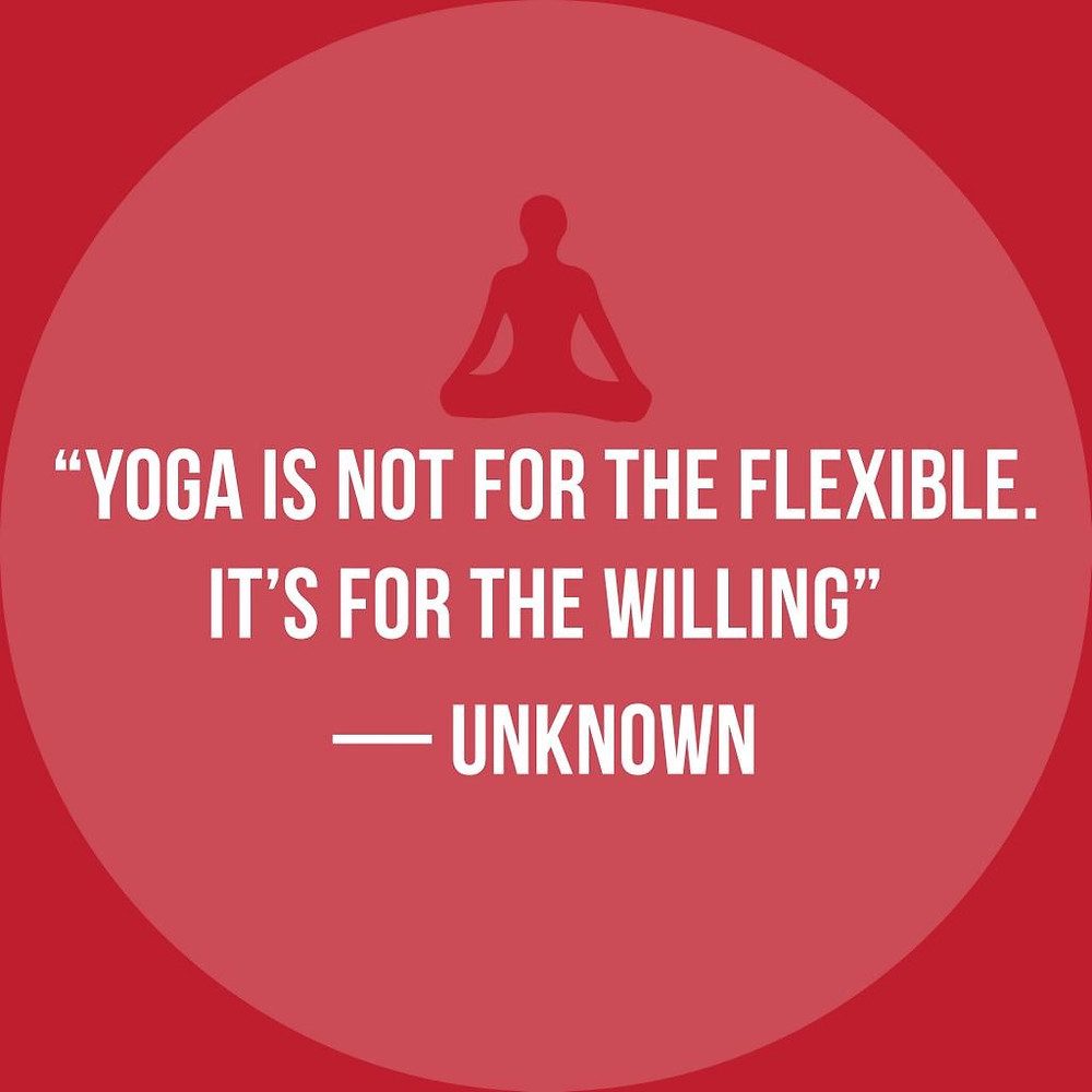 Yoga is for the Willing image