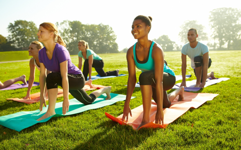Monday Community Outdoor Yoga 9-10am