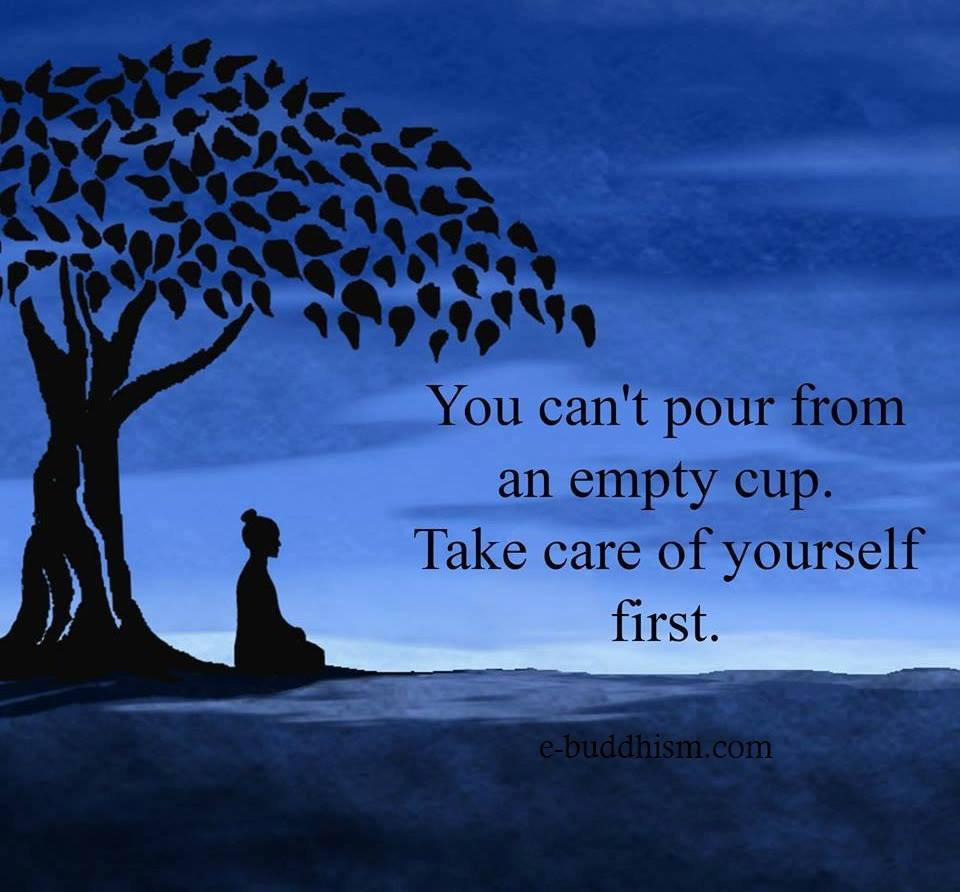 Self-care, not selfish care...