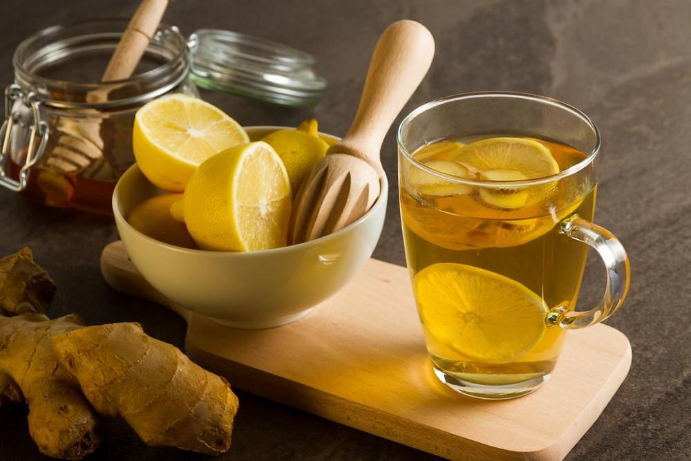 Hot Lemon Drink image