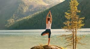 Mountain Lakeside Yoga