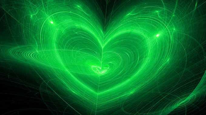 Emerald Green Heart Chakra image