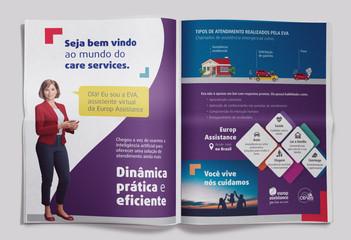 Anúncio - Página dupla - Europ Assistance   2019