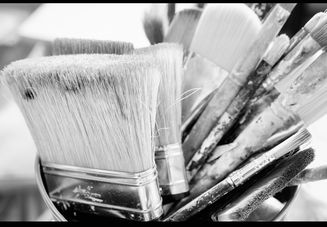 brushes bw