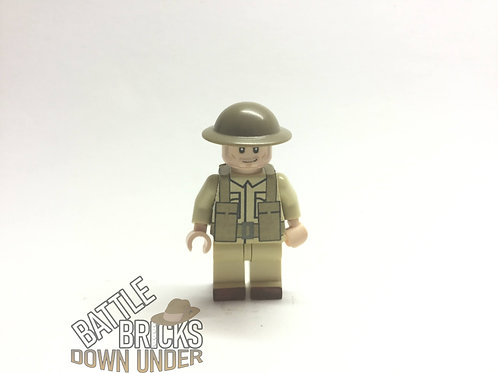 LEGO WW2 British infantry stickers