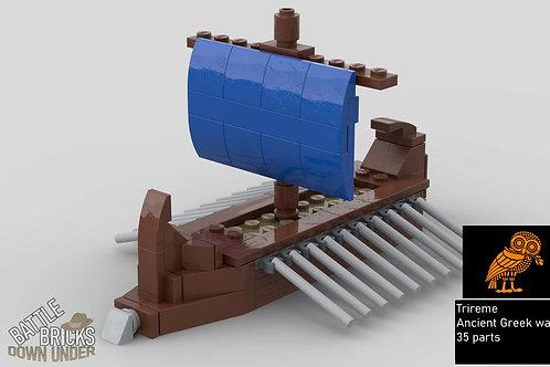 LEGO Trireme instructions