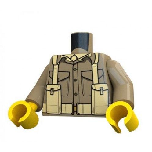 WW2 British Army Infantry Torso