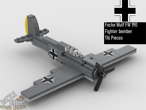 LEGO Focke Wulf FW 190 Fighter Bomber Instructions