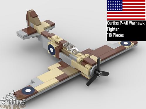 LEGO P-40 warhawk instructions