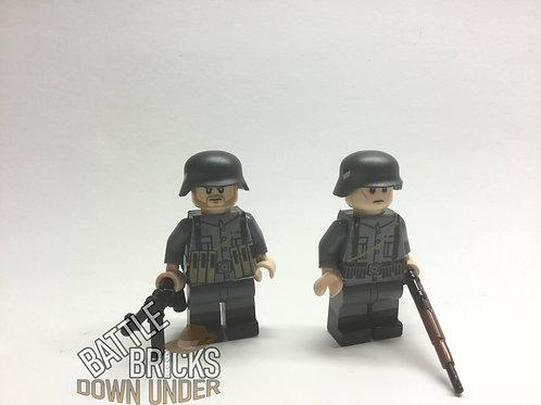 LEGO WW2 German infantry stickers