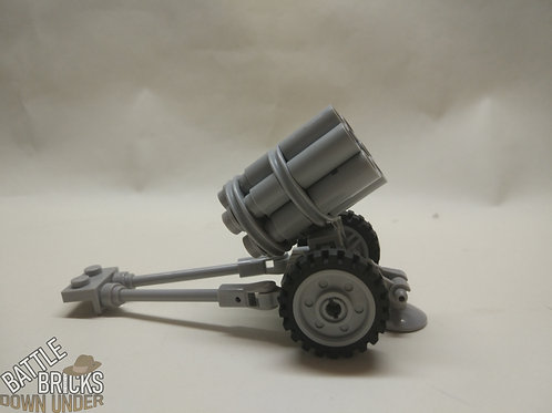 LEGO Nebelwerfer 41 Rocket Launcher Instructions