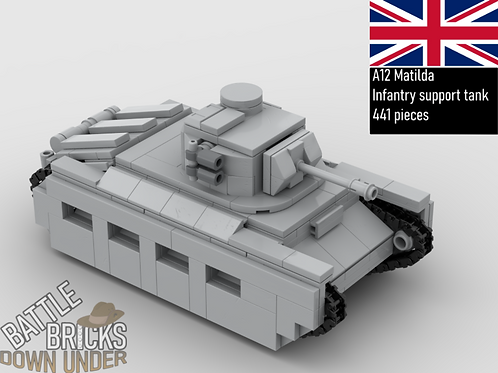 LEGO A12 Matilda Instructions
