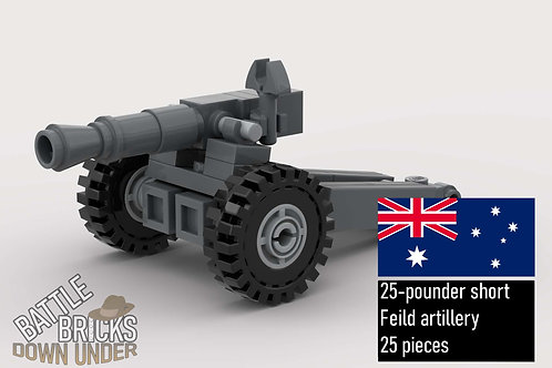 LEGO 25-pounder short instructions