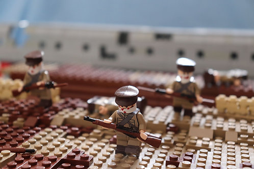 Lego WW1 Russian infantry stickers