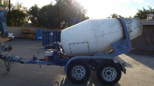 Cart Away Used Equipment Mixing Trailers