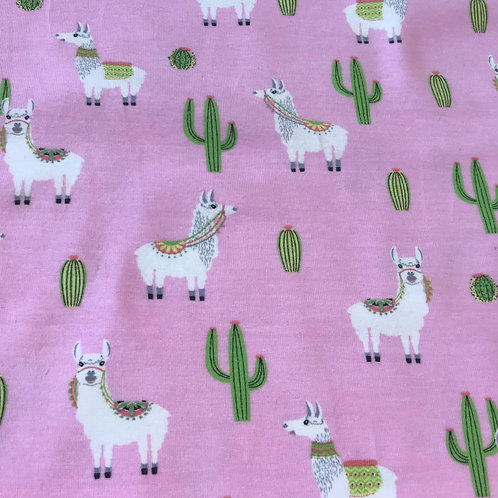 Llama on Pink