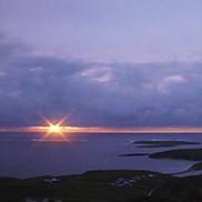 Sonnenaufgang auf den Castellers Inseln