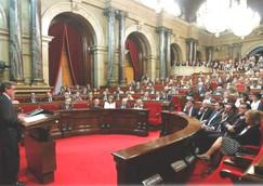 Hoher Rat im Parlament