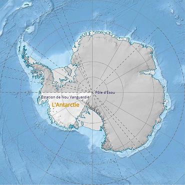 Vanguardisches Antarktis Territorium