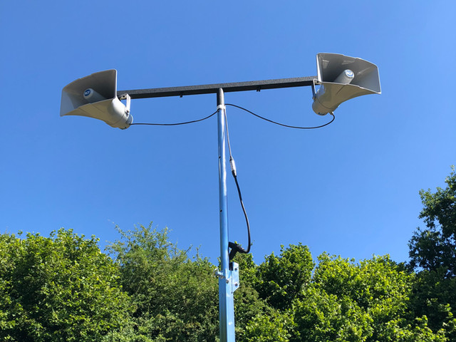 Outdoor Event-Large Coverage 100v Line Systems