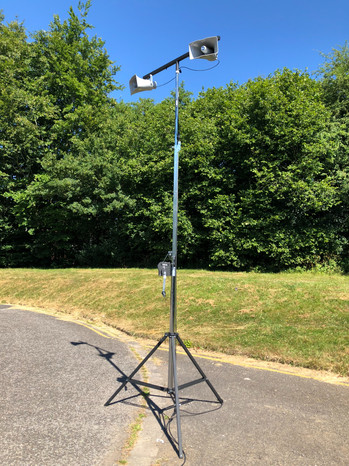 PA horn system for fetes & Shows