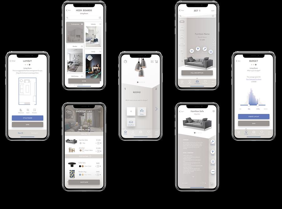 AR interior app