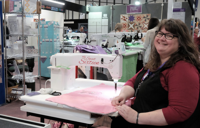 Fabulous Festival of Quilts
