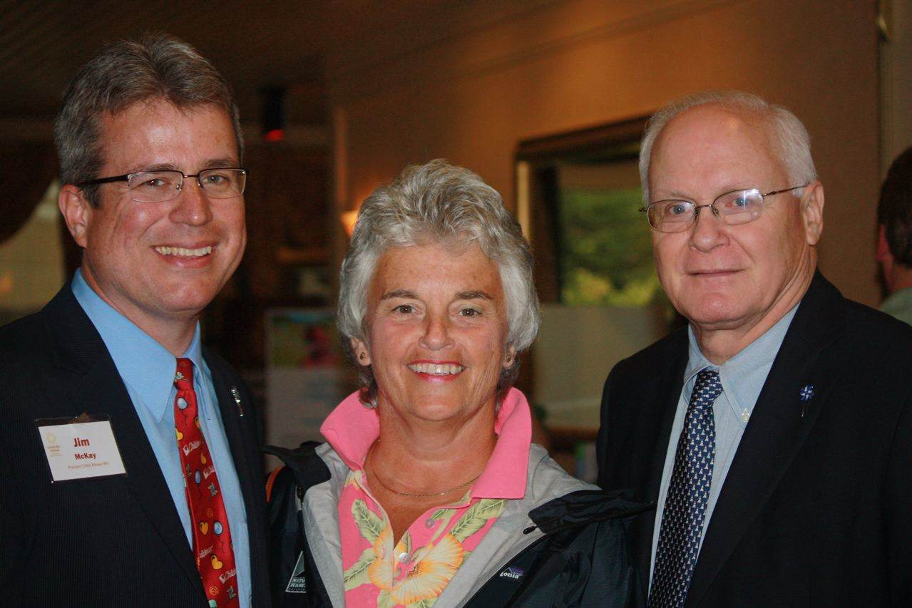 Jim, Pat & David