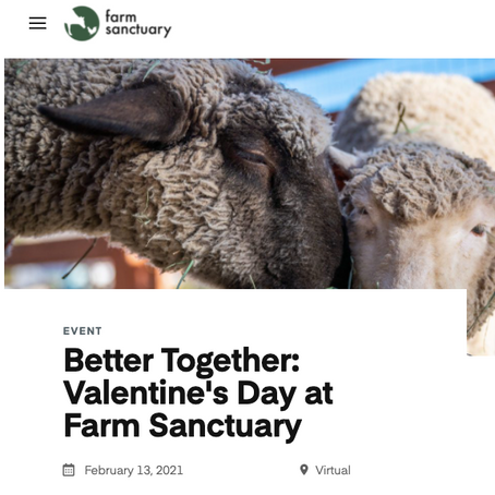 Food Love Honored During Farm Sanctuary's Better Together Event
