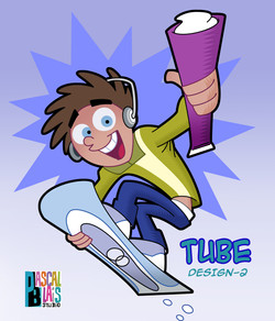 Tube Yogurts