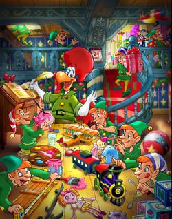 St-HUBERT Christmas calendar
