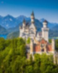 Beautiful view of world-famous Neuschwan