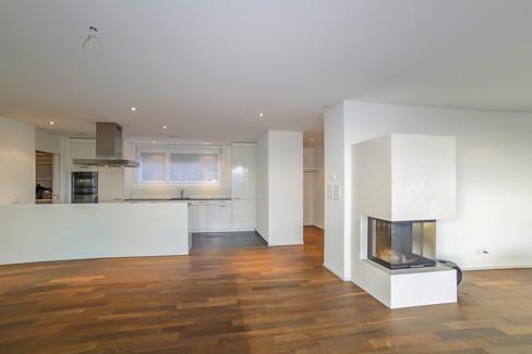 Das Zentrum der Wohnung, Immobilienfotografie