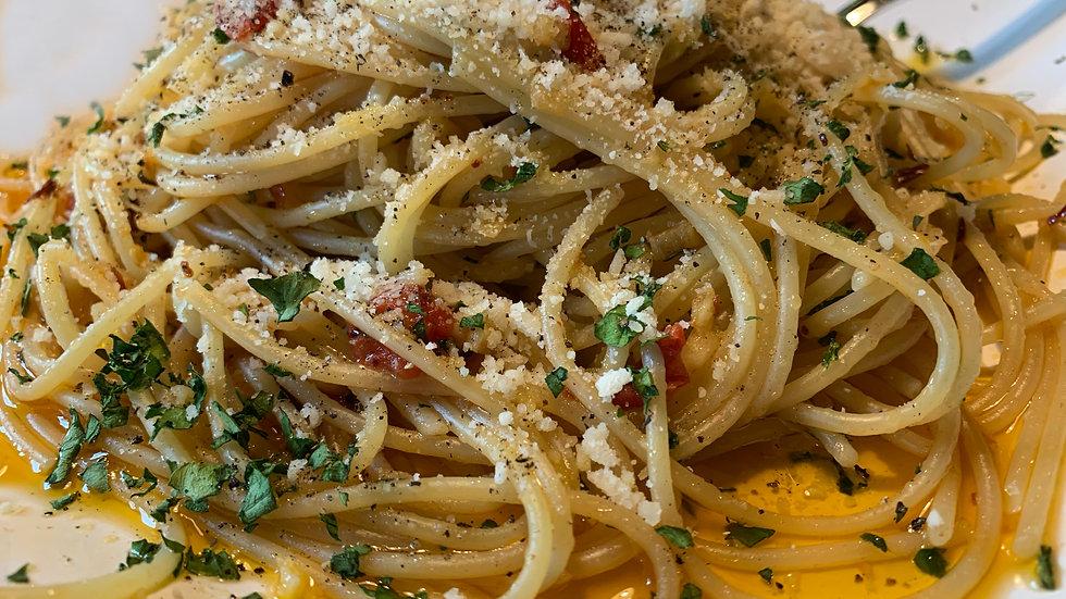 Spaghetti all you can eat