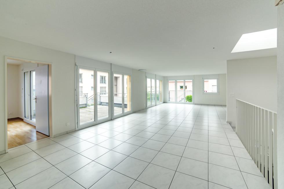 Wohnzimmer, Immobilienfotografie