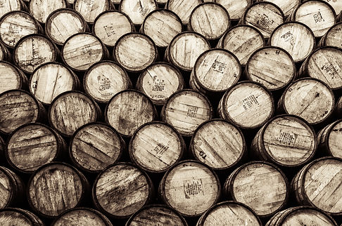 ex bourbon casks
